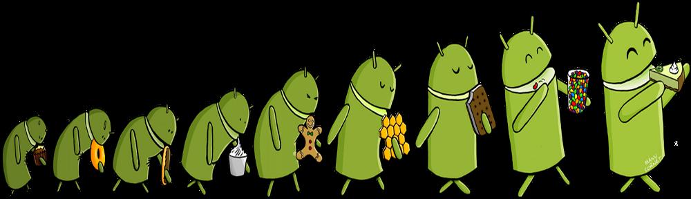 L'evoluzione di Android, il primo indizio di questo inverno di un nuovo aggiornamento