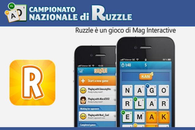 Campionato Nazionale ruzzle Main MFP 638x425 Ruzzle, ecco il campione italiano del torneo nazionale del gioco mania